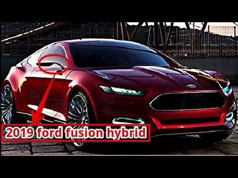 2019 Ford Fusion Hybrid Youtube