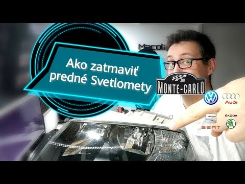 🚗 DIY Black Headlight Skoda Octavia 2 customizing 🏁