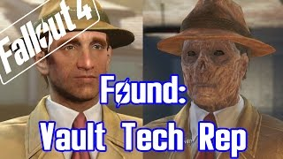 Fallout 4 - Meet: Vault Tech Rep / Salesman from the Start!