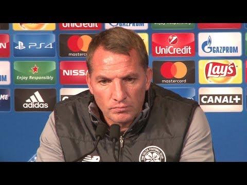 Brendan Rodgers Full Pre-Match Press Conference - PSG v Celtic - Champions League