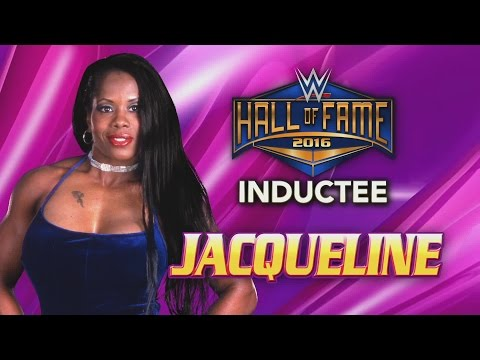 Jacqueline joins the WWE Hall of Fame Class of 2016