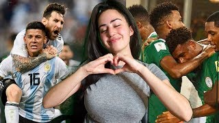 ARGENTINA ELIMINATES NIGERIA FROM THE WORLD CUP WITH LATE GOAL BY ROJO!!! | MESSI FINALLY SCORES