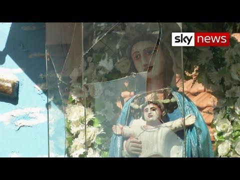 Sri Lanka attacks: Sky visits scene of the deadliest bombing