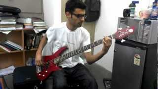 Sayonee (junoon)- Bass guitar cover
