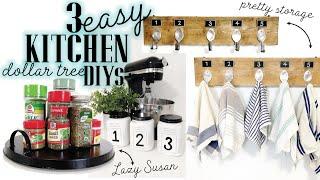 DOLLAR TREE Kitchen DIYs | Dollar Tree Storage DIYs | Farmhouse Dollar Tree DIYs