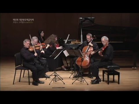 [2015 GMMFS 대관령국제음악제] Franck - Piano Quintet in F minor, M.7