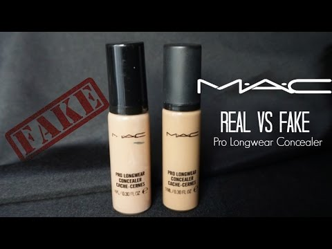 real vs fake mac cosmetics concealer quotnc35quot how to spot
