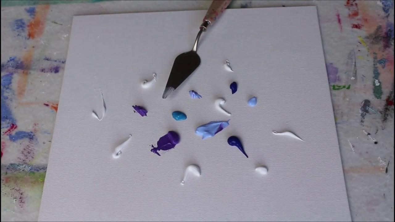 Acrylmalerei Modernes Acrylbild Zum Nachmalen Modern Acrylic Painting Daily Painting No 18