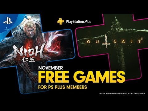 PlayStation Plus - Free Games Lineup November 2019 | PS4