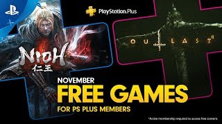 PlayStation Plus - Free Games Lineup November 2019 | PS4