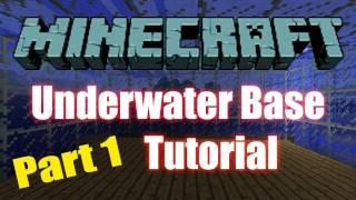 Minecraft: Building an Underwater Base Part 1 - Getting Started