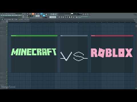 MINECRAFT vs ROBLOX - MIDI Art