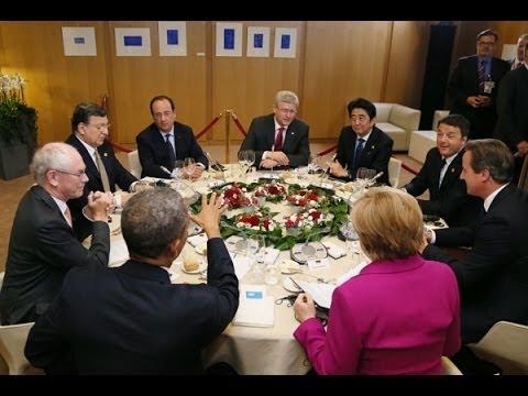 G7サミット/イタリア訪問-平成26年6月4日-6日