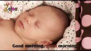 Gambar cover Good morning song for babies // Canción para bebés