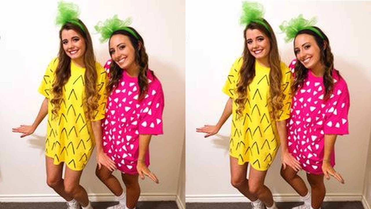 Best Friends Halloween Costume Ideas 2  sc 1 st  YouTube : friends halloween costumes  - Germanpascual.Com