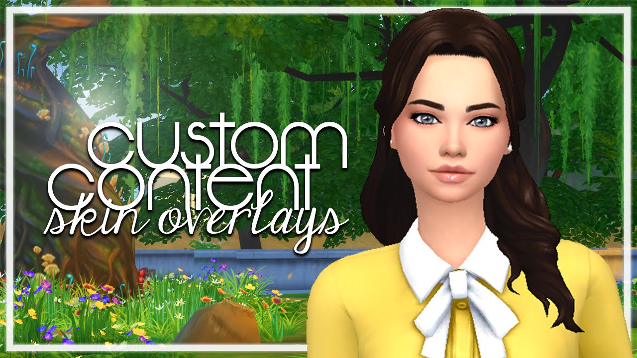 The Sims 4: Custom Content Finds | Maxis Match Skin Overlays