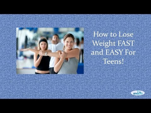 How to Lose Weight FAST and EASY For Teens – Teen Weight Loss Tips