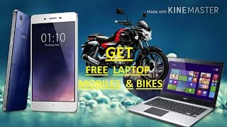 GET FREE GIFT OF MOBILE LAPTOP BIKE......!!! IF U LUCKY