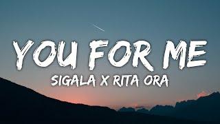 Sigala x Rita Ora - You For Me (Lyrics) mp3 indir