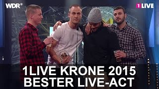 Bester Live-Act: K.I.Z. | 1LIVE Krone