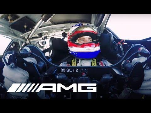 Mercedes-AMG Customer Racing – Jeroen Bleekemolen at work at 12H Sebring 2017