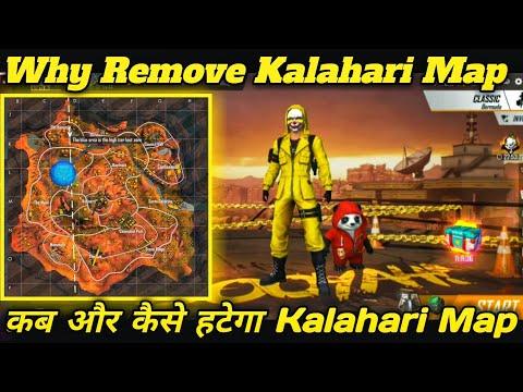 Why Remove Kalahari Map In Free Fire ll Kalahari Map Kyu Htaya Gya Rank Se ll Kalahari Map Remove