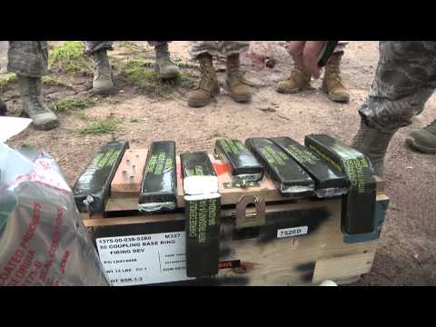 125th Fighter Wing Explosive Ordnance Disposal Training