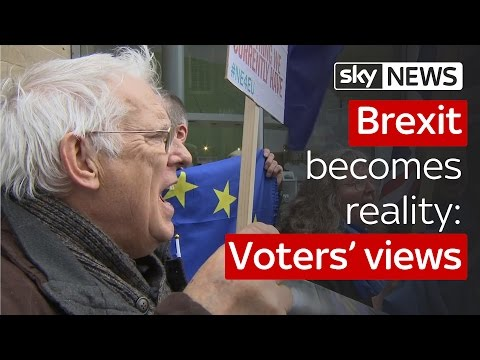 Brexit becomes reality: what do voters think now?