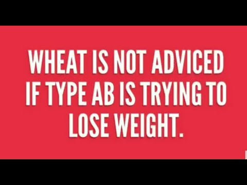 Blood Type AB Diet..weight Loss