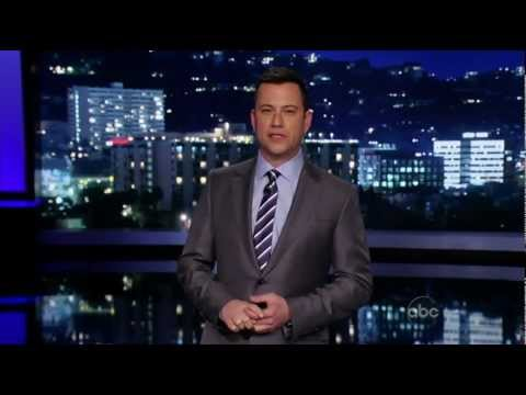 Aengus MacGrianna on Jimmy Kimmel