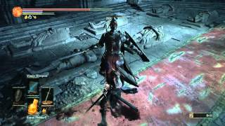 Dark Souls III, Fighting with a red eyes Knight inside Lothric Castle :)