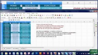 27 -  Trier et Filtrer des données (Autoformat, boutons trier, filtrer) avec Calc