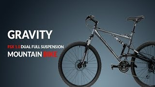 2017 Gravity FSX 1.0 Dual Full Suspension Mountain Bike Review