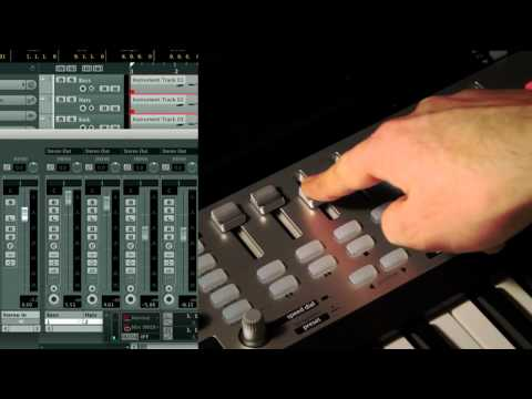 Novation // SL MkII and Impulse Controlling Cubase and Nuendo