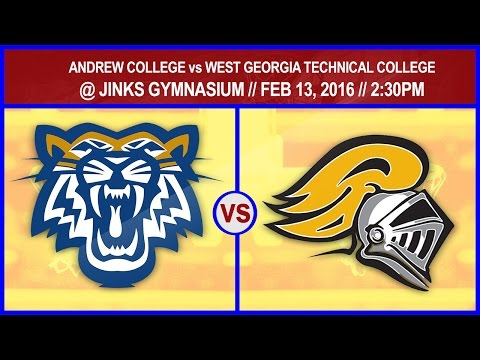 WOMEN BASKETBALL: ANDREW COLLEGE vs WEST GEORGIA TECHNICAL COLLEGE