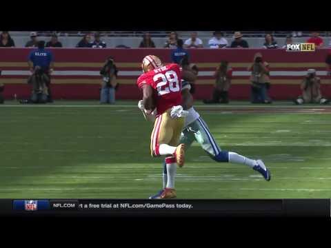 Carlos Hyde's Massive Stiff Arm!   Cowboys vs. 49ers   NFL