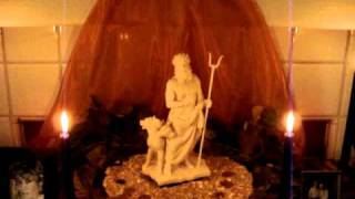 """""""The Rite of Hades"""" altar"""