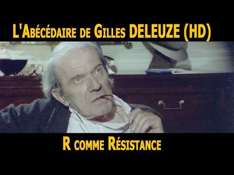 L Abecedaire De Gilles Deleuze R Comme Resistance Hd Youtube