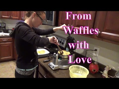 Review Using Cuisinart Double Belgian Waffle Maker for reals…