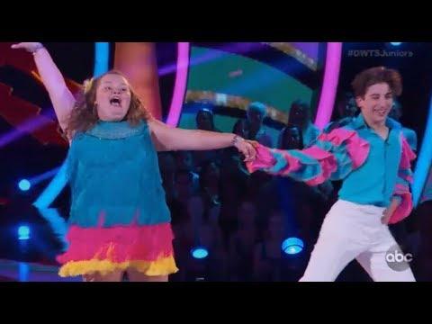 "Alana ""Honey Boo Boo"" Thompson & Tristan Ianiero - Dancing With The Stars Juniors Episode 1"