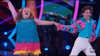 "Alana ""Honey Boo Boo"" Thompson & Tristan Ianiero - Dancing With The Stars Juniors Episode 1"