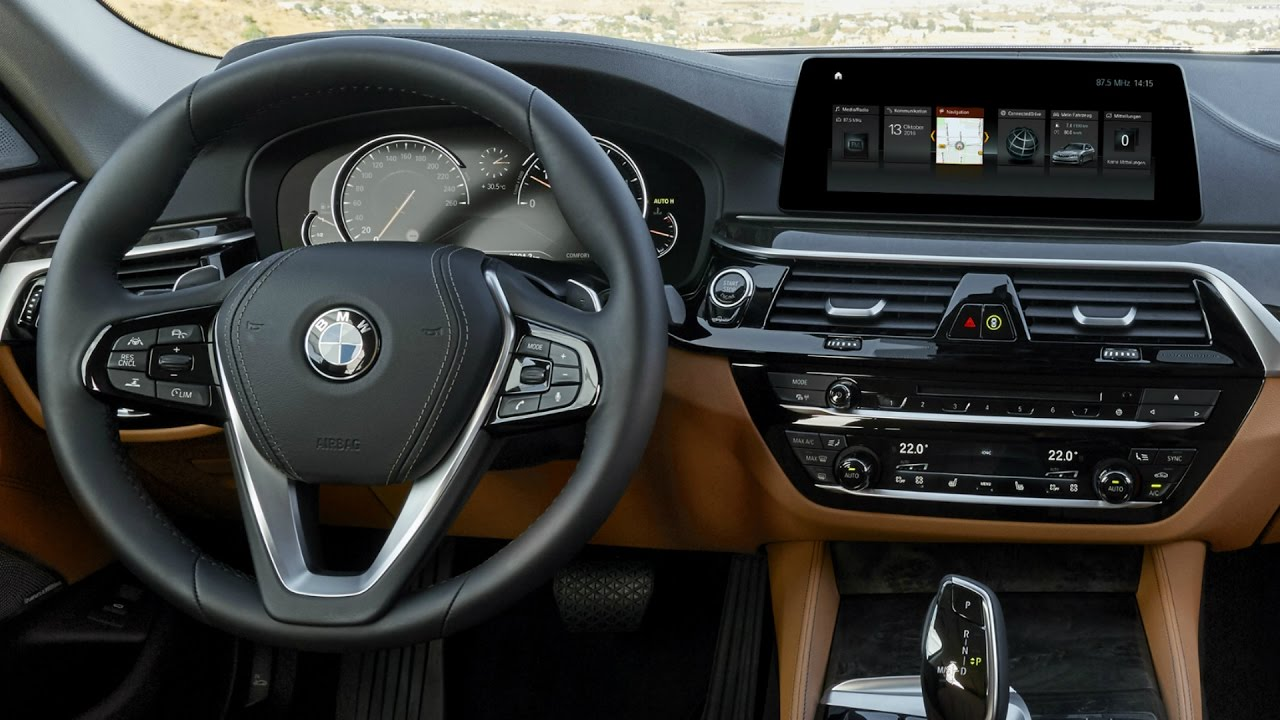 Bmw 5 Series 2016 >> 2017 BMW 530d Luxury Line - Interior - YouTube