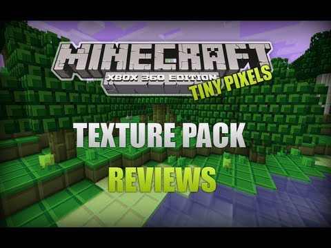 Minecraft Xbox 360 - Texture Pack Reviews Ep.1 (Tiny Pixels) - YouTube