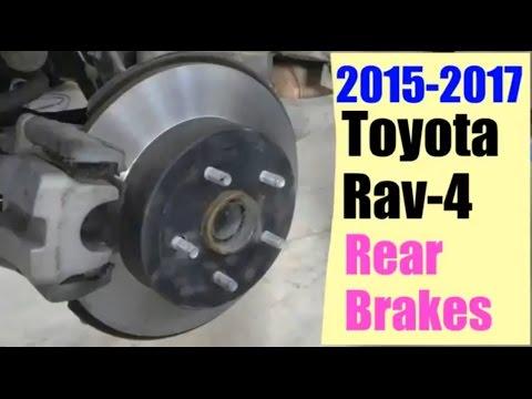 2017 Rav 4 Rear Brakes