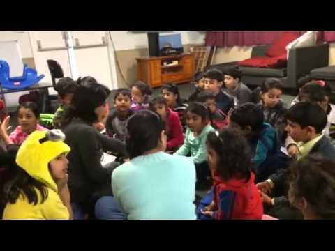 Children Learning Music at Bhartiya Samaj Auckland Language and Cultural School.