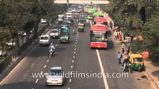 Road to Indira Gandhi International Airport, Delhi