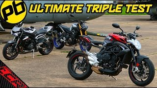 Street Triple RS - MT09 SP - Brutale 800 RR | Ultimate Shootout!!