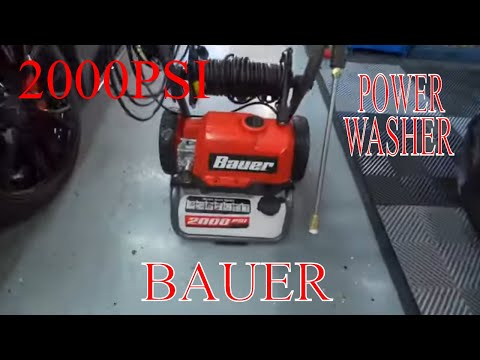 BAUER 2000PSI Power Washer! Will This Be Effective For Auto Detailing?