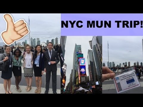 NYC MODEL UN TRIP VLOG!!! SO.MUCH.FUN.