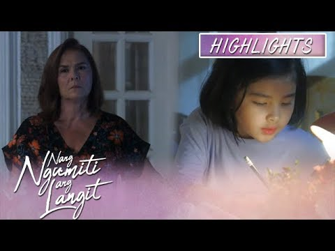 Mikmik looks for a good place to study on her lessons | Nang Ngumiti Ang Langit